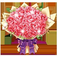 玫瑰花束陪玩禮物